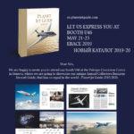 Planet Jet Guide 2019/2020 – премьера на главной выставке деловой авиации Европы