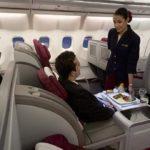 Qatar Airways распродает бизнес класс